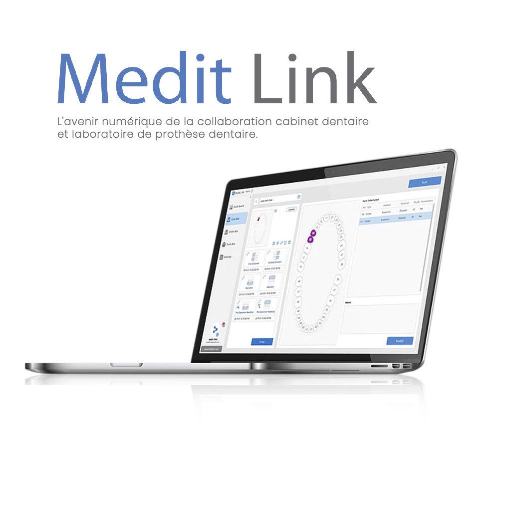 Medit i500 logiciel